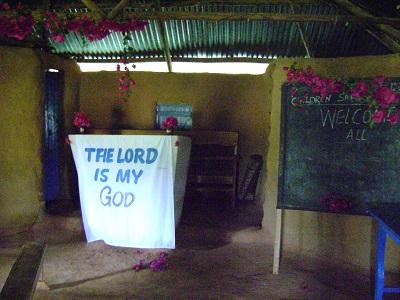 Inside Getengero SDA Church